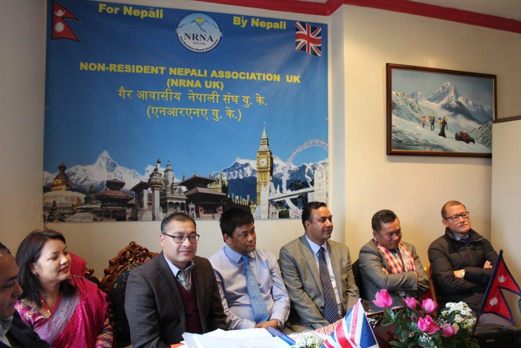 एनआरएन यूकेले २ सय ९३ सल्लाहकारको सम्मान 'होटल भिलेजमा' गर्ने