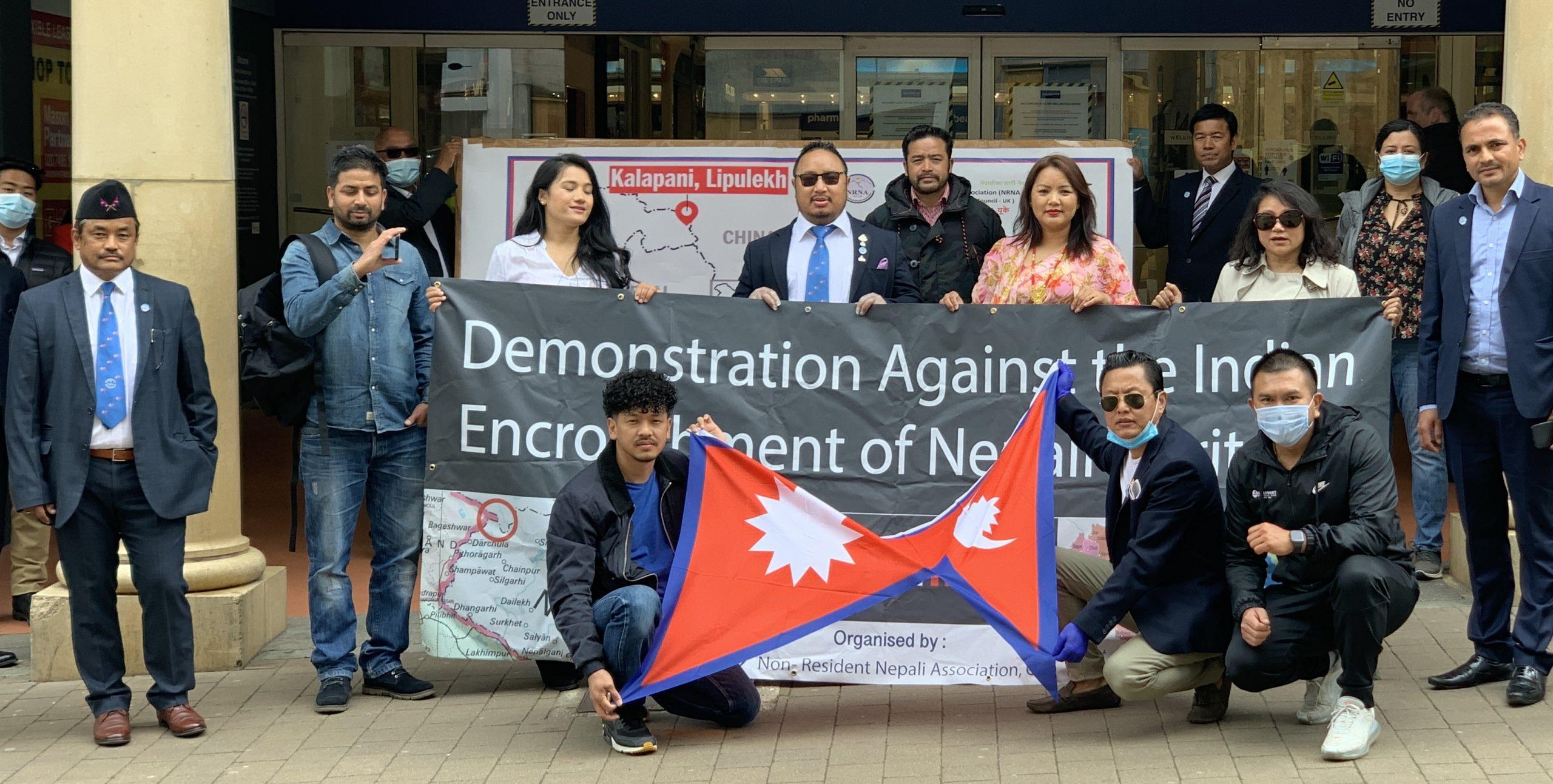एनआरएनए यूके द्वारा भूमि अतिक्रमणको विरोधमा भारतीय प्रधानमन्त्रीलाई ज्ञापनपत्र