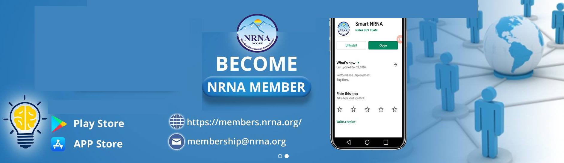 Become NRNA Member